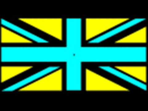 Optical illusion: English flag
