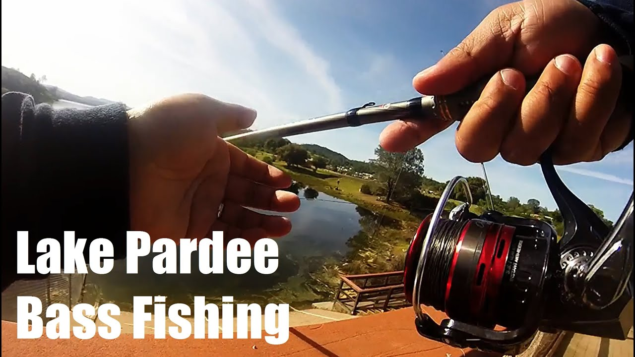 Lake pardee bass fishing youtube for Lake pardee fishing report
