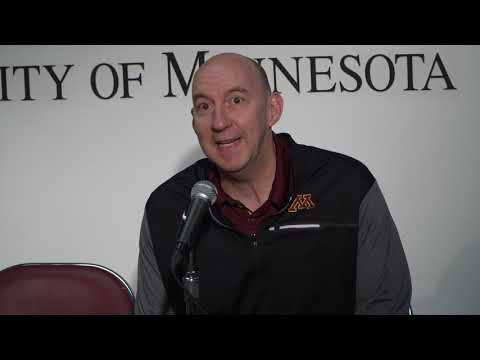 Press Conference: Gopher Volleyball's Hugh McCutcheon Previews Illinois & Northwestern