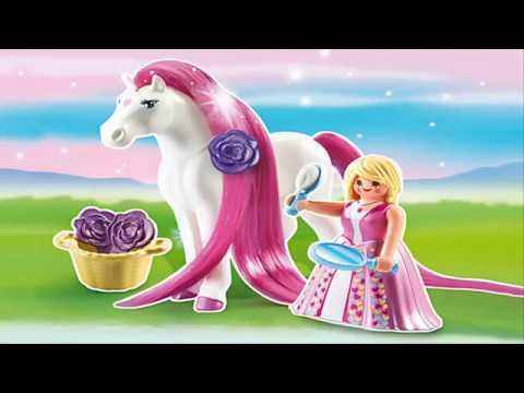 Playmobil Princess And Her Horse Toy For Children Youtube