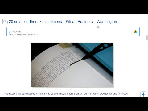 MAGNITUDE 6+ EARTHQUAKES HITS JAPAN AND ALASKA  CASCADIAN FAULT ON ALERT