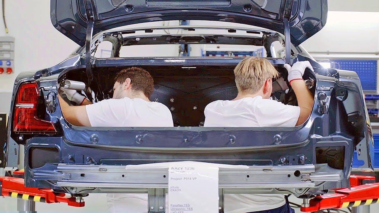 Polestar 1 2019 Production Line Swedish Car Factory