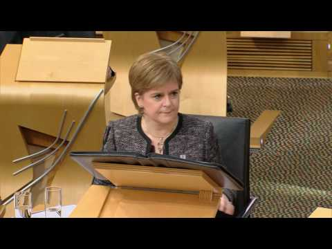 First Minister's Questions - Scottish Parliament: 26th January 2017
