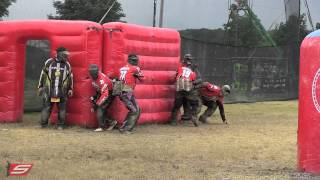 2013 PSP Chicago Open | Pro Finals | Houston Heat vs San Diego Dynasty | Raw Paintball