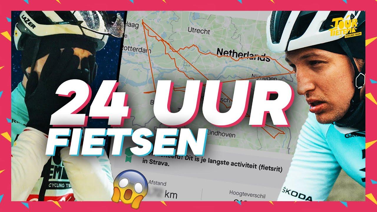 Download ZO VER MOGELIJK FIETSEN BINNEN 24 UUR (WEDSTRIJD) | TOUR DE TIETEMA CYCLING TEAM #8