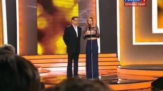 Татьяна Навка и Александр Домогаров   Золотой орел 2013