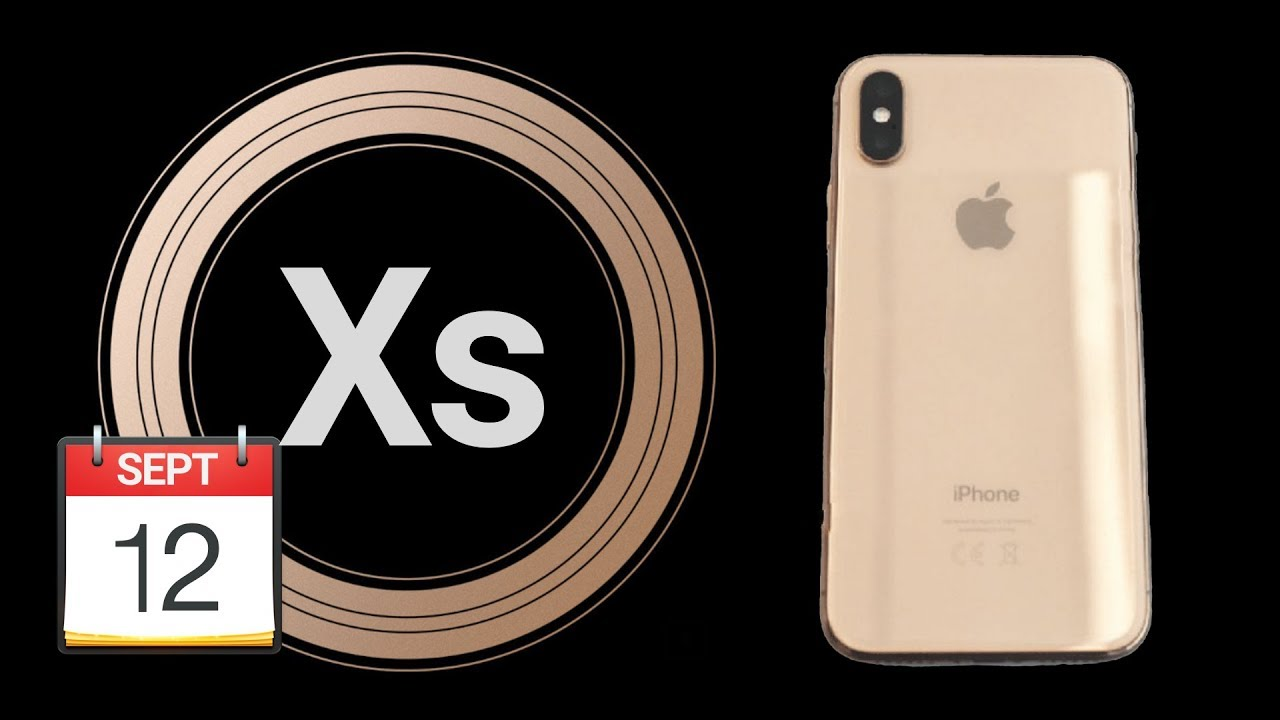 apple 2018 september event confirmed iphone xs coming. Black Bedroom Furniture Sets. Home Design Ideas