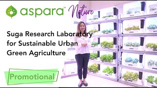 aspara® | Suga Research Laboratory for Sustainable Urban Green Agriculture