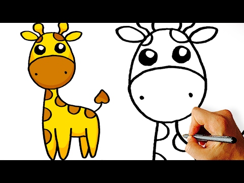 Cute giraffe cartoon images