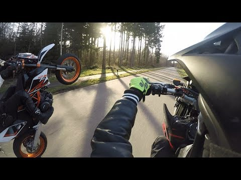 The Comeback| Enduro vs Supermoto 2018