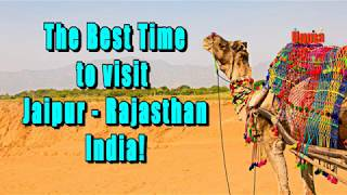 The Best Time To Visit   Jaipur Rajasthan India