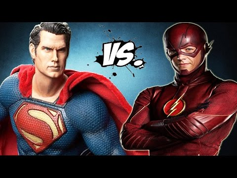 Superman vs The Flash - Epic Superheroes Battle