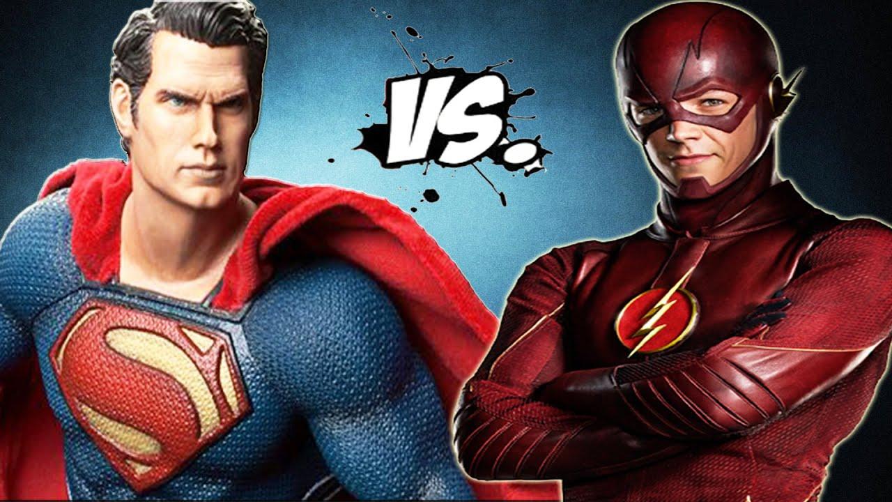 Superman vs The Flash - Epic Superheroes Battle - YouTube