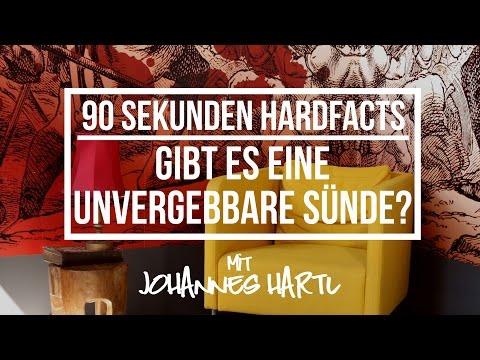 Gibt es eine unvergebbare Sünde - 90 Sekunden Hardfacts mit Johannes Hartl