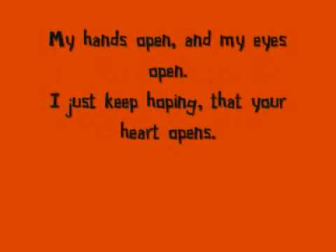 Snow Patrol  - Hands Open (With Lyrics)
