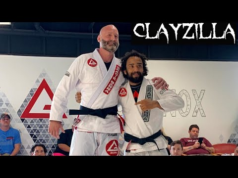 Clayzilla(Clay Holliday) earns his Blackbelt from Professor Samuel Braga
