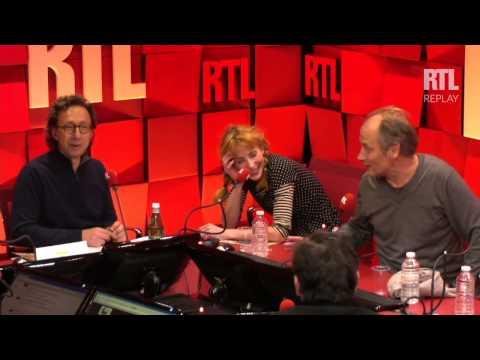 Julie Depardieu et Hippolyte Girardot : Les invités du jour du 20/11/2014 - RTL - RTL