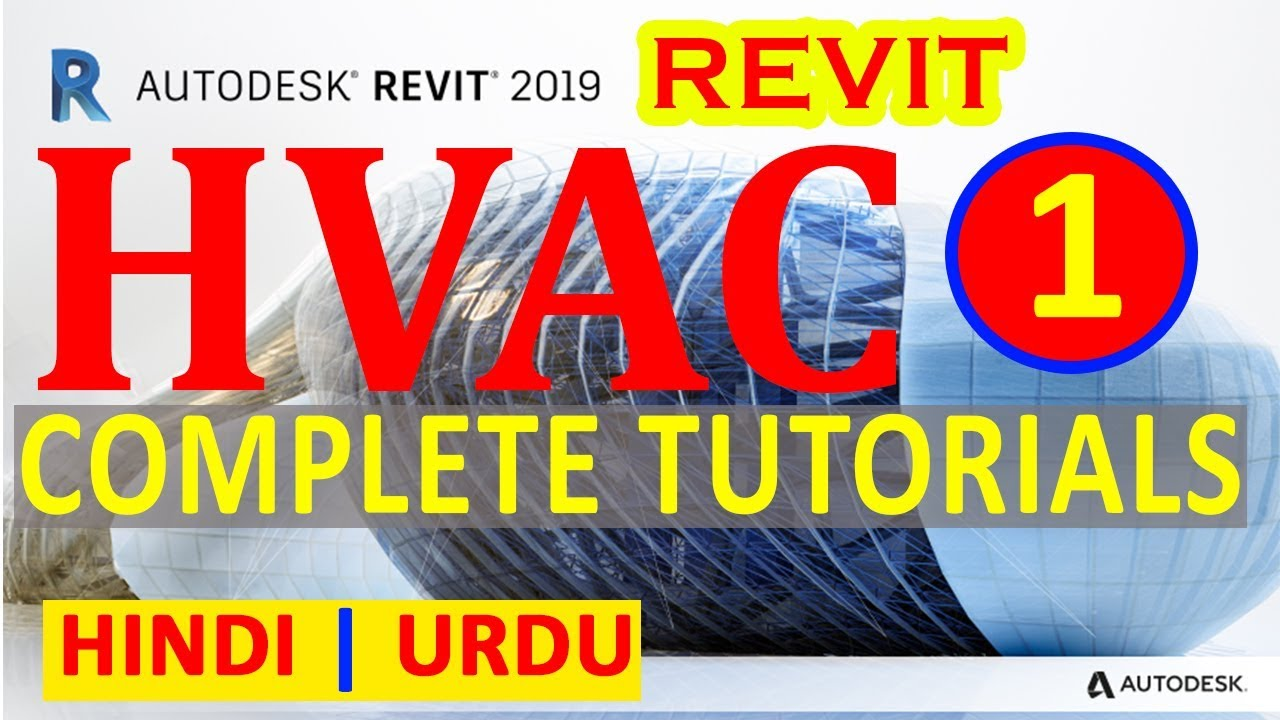 01 - Starting New HVAC Project | HVAC Complete Tutorials | Revit MEP in  Hindi | Urdu