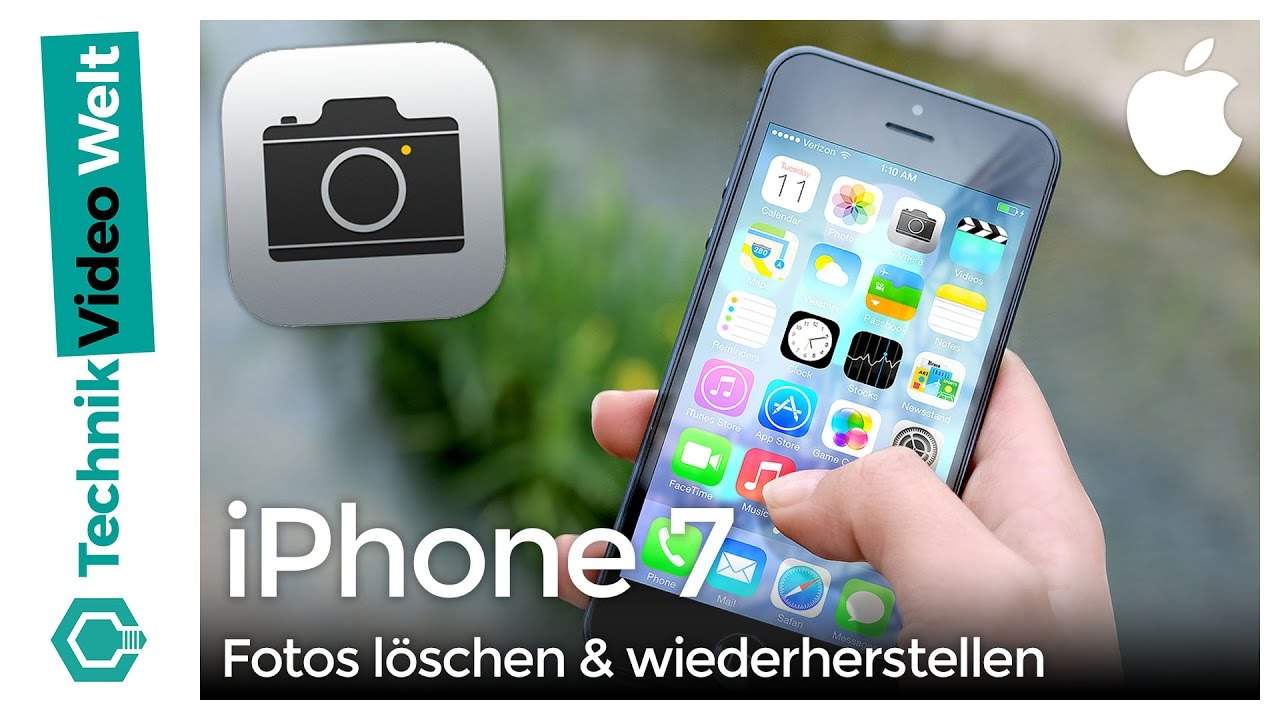 orte fotos iphone löschen