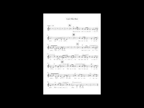 caro mio ben Cover : English Version