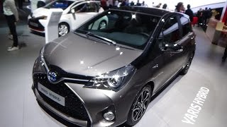 2017 Toyota Yaris Hybrid - Exterior and Interior - Paris Auto Show 2016