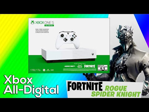 Xbox One S All Digital Version 2  Unboxing - Now With Fortnite