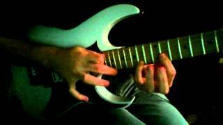 Obscura - Euclidean Elements solo cover