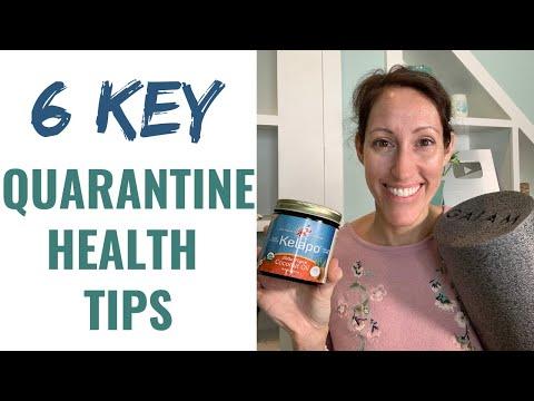 How to Stay Healthy During a Quarantine While Working From Home | 6 Whole Body Wellness Tips