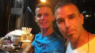 Wearing a Serbian Shirt in an Albanian Cafe