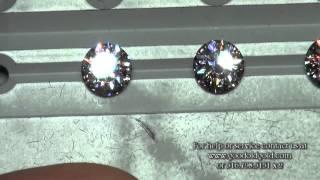 Round Brilliant Cut Diamonds: 1.7xct -1.8xct, E-H Colors, SI1-SI2 Clarity