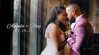 Angela + Clay   Wedding Highlights