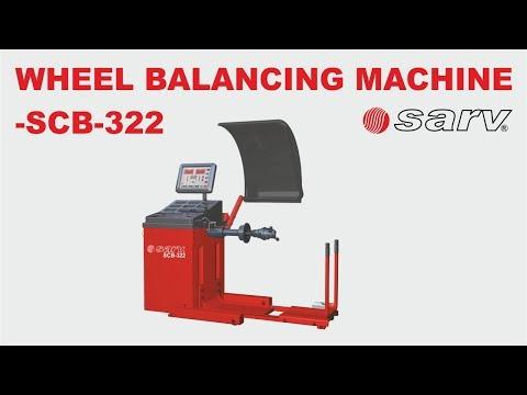 SCB- 322 - Sarv WHEEL BALANCING MACHINE FOR TRUCKS & BUSES