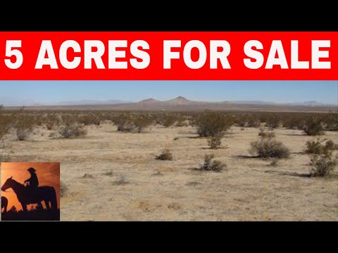 California 5 Acres For Sale Owner Financed