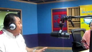 DATO MALEK NOOR  DUTA MAGNETIC AURA DI RADIO IKIM 5MAC2013