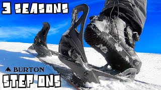 Burton Step On Bindings Review  3 years Later  In Powder 2020 ?