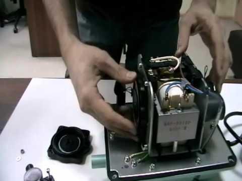 Компрессор HAILEA АСО-9820, 60 л/мин, мембранный - YouTube
