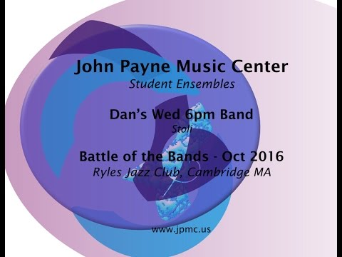 John Payne Music Center - Battle of the Bands - 10/2016 - Dan's Wed 6pm Band - Stoli