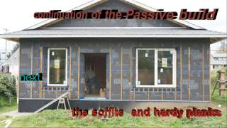 Passive house construction video #24 window installation , Eu designed passive windows