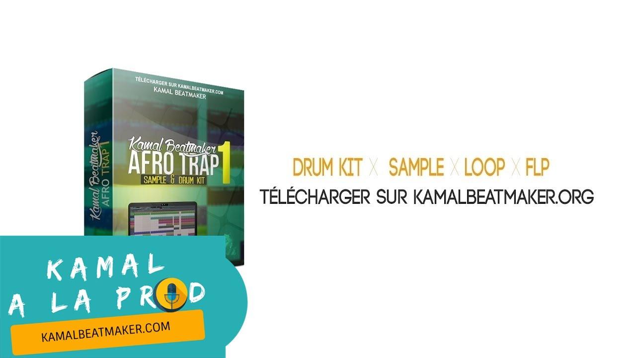 Télécharger Pack Afro Trap (Drum Kit, Flp, Loop) By Kamal