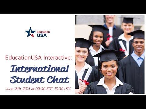EducationUSA Interactive: International Student Chat