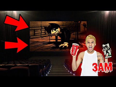 DO NOT WATCH BENDY MOVIE AT 3AM!! *OMG BENDY THE INK MACHINE ACTUALLY CAME TO MY HOUSE*