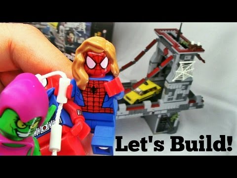 LEGO Spider-man: Bridge Battle 76057 Let's Build!
