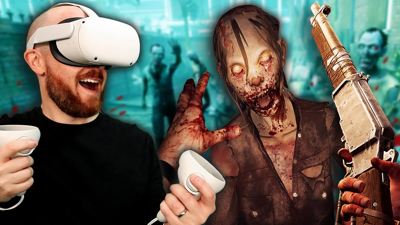 Oculus Quest 2 The Walking Dead: Saints & Sinners Gameplay