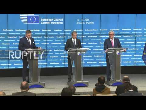 Belgium: No EU sanctions over Syria, but current anti-Russian measures to be extended - Tusk