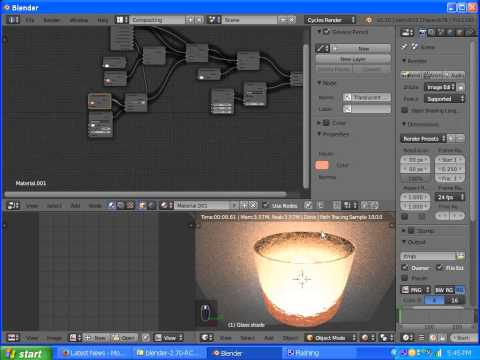 Blender Cycles Lightpaths and Glass