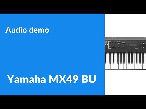 Yamaha MX49 BU - Making a soulful beat [Audio demo]