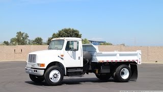 1993 International 4900 3-4 Yard Dump Truck for Sale