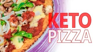 HOW TO MAKE THE BEST KETO PIZZA CRUST