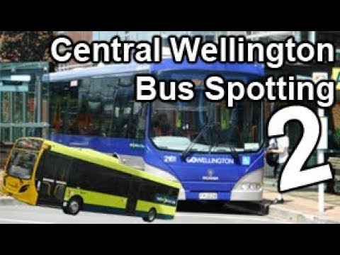 Wellington City Bus Spotting 2 | Post-Trolleybus era! | NEW METLINK LIVERY!