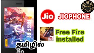 How to install FREE FIRE IN JIO PHONE LIVE PROOF 2019